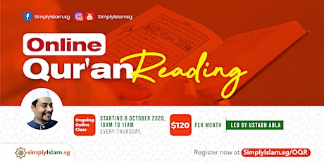 Online Qur'an Reading tickets