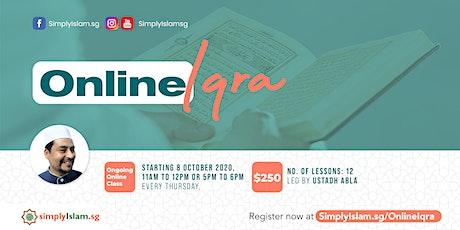 Online Iqra' tickets