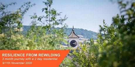 Resilience From Rewilding - 3 month  journey with a 2 day residential. tickets