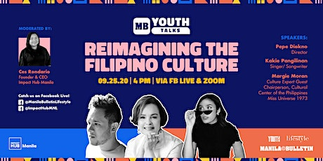 MB Youth Talks: Reimagining the Filipino Culture in Performing Arts tickets
