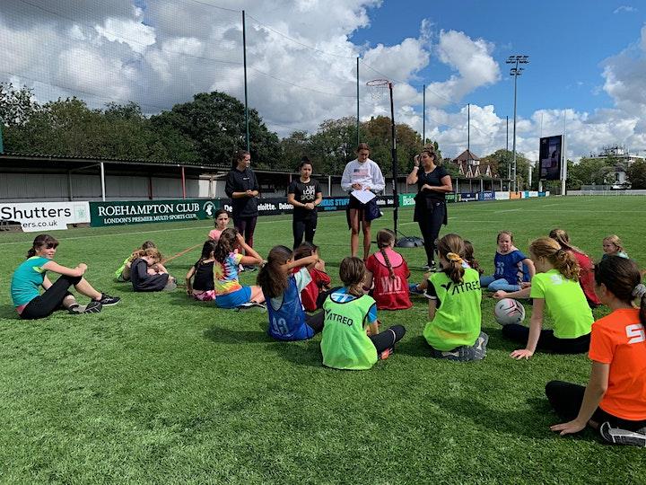 Dream Team Netball Academy - Oct Half Term Netball Camp @ Rosslyn Park FC image
