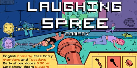 FREE ENTRY English Comedy Show - Laughing Spree 16.11. - EARLY SHOW tickets