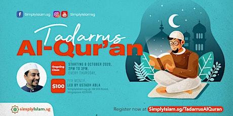 Tadarrus Al-Qur'an tickets