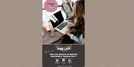 WEB LIVE:  Emprender y Conecta entradas