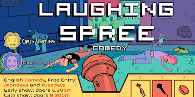 FREE ENTRY English Comedy Show - Laughing Spree 30