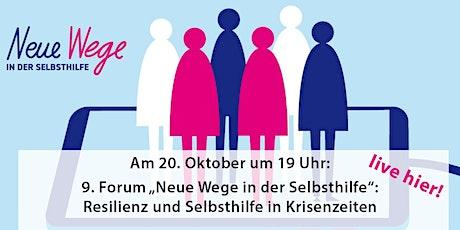 """9. Forum """"Neue Wege in der Selbsthilfe"""" Tickets"""