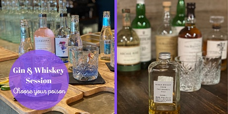 Gin and Whiskey Session @1882 Hall tickets
