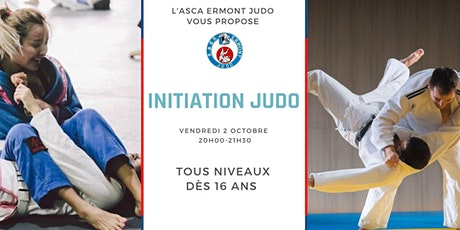 Initiation Judo à l'ASCA Ermont Judo billets