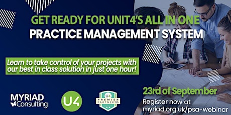 Learn about Unit4 ERP's all-in-one practice mangement solution tickets