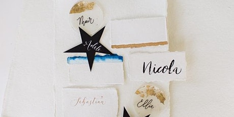 Modern Calligraphy Workshop for Beginners with Nyree of Paint & Ink Studio tickets