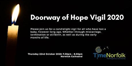 Doorway of Hope Vigil 2020 tickets