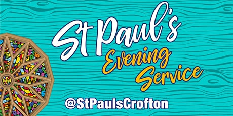 Evening Service - 27th September PM tickets