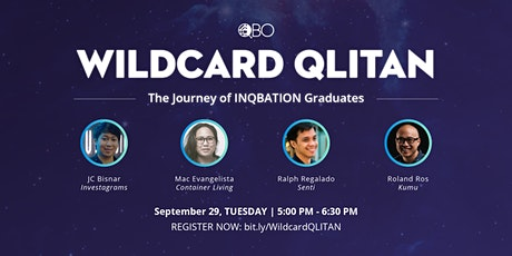 Wildcard QLITAN: The Journey of INQBATION Graduates tickets