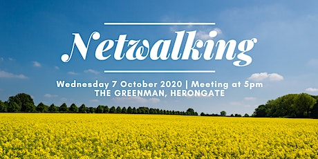 October 2020 'Netwalking' Event from The Green Man Herongate tickets