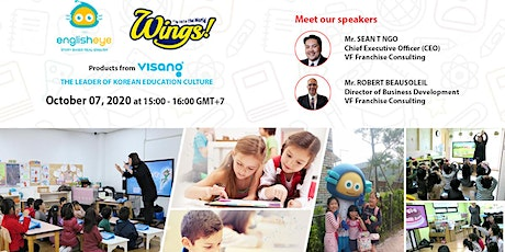 [FREE ONLINE SEMINAR] ENGLISHEYE & WINGS from VISANG EDUCATION GROUP – Octo tickets
