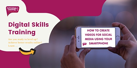 How To Create Videos For Social Media Using Your Smartphone tickets