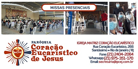 Santa Missa - 27/09/2020 - 8h45 ingressos