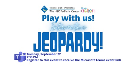 Kids in Action Interactive Jeopardy tickets
