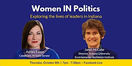 Women IN Politics: Ashley Eason & Janet McCabe tickets