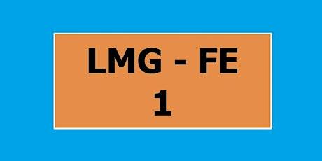30 settembre - 1° anno LMG - FE biglietti
