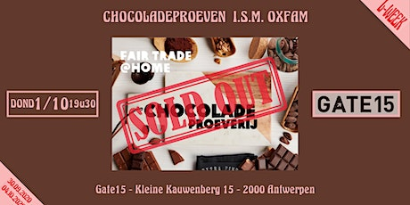 Chocoladeproeven  i.s.m. OXFAM tickets