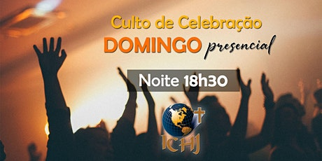 Culto Presencial - Domingo 27/09 - Noite (18h30) ingressos