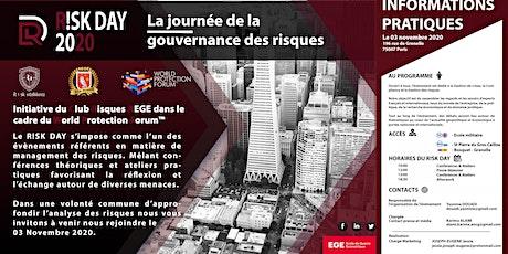 R!SK DAY : La journée de la gouvernance des risques billets