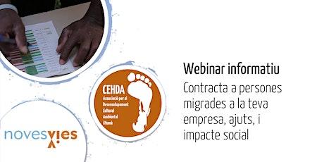 Contracta a persones migrades a la teva empresa, ajuts, i impacte social entradas