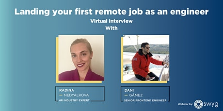 Landing your first remote job as an engineer (Virtual interview) tickets