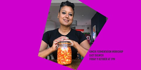 Socially-distanced Kimchi workshop in East Dulwich tickets