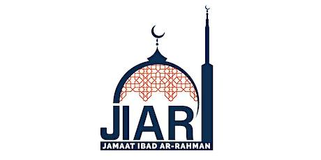 JIAR Jummah Prayer Registration - Sept 25th tickets