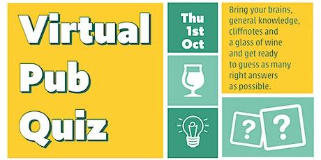 Virtual Pub Quiz tickets