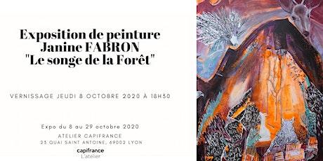 """Vernissage expo peinture """"Le songe de la forêt"""" billets"""