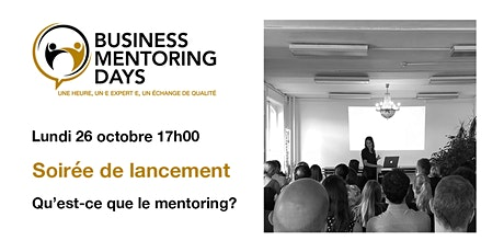 Business Mentoring Days: soirée de lancement tickets
