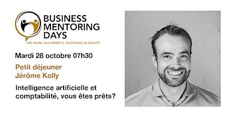 Business Mentoring Days: petit déjeuner Jérôme Kolly tickets