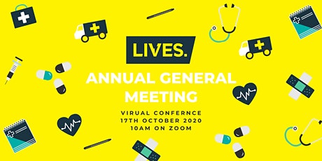LIVES Annual General Meeting 2020 tickets