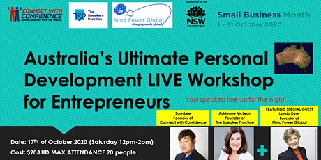 Australia's Ultimate Personal Development LIVE Workshop for Entrepreneurs tickets