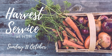 Harvest Service at HTR tickets