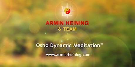 Dynamic Meditation Tickets