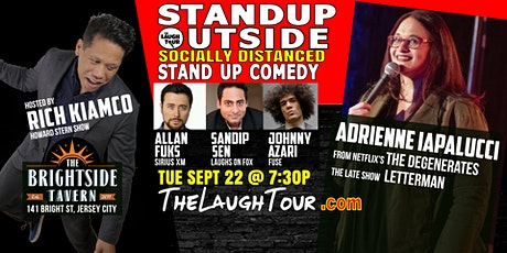 9/22  StandUp Outside! Comedy @ Brightside Jersey City tickets