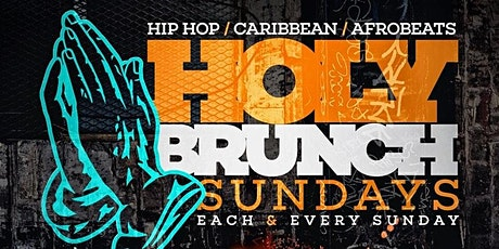 10/4 Rooftop Vibes |#holybrunchsundays #RooftopBrunch | NYC skyline view tickets