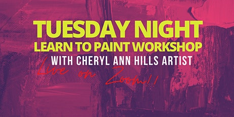 Tuesday Night Learn to Paint Workshop tickets