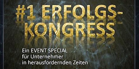 #1 ERFOLGSKONGRESS Tickets
