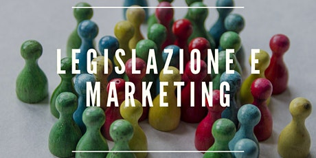 LEGISLAZIONE E MARKETING tickets