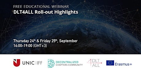 DLT4ALL - Roll-out Highlights - Day 1 tickets