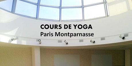 Séance de Yoga à Paris billets