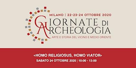 «Homo religiosus, homo viator» biglietti