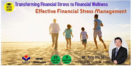 Transforming the Financial Stress to Financial Wellness tickets