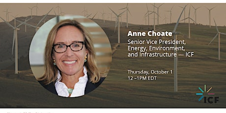 Distinguished Lecture by ICF's Anne Choate tickets