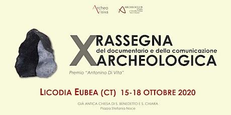 Rassegna del Documentario e della Comunicazione Archeologica biglietti